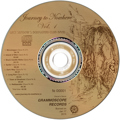 Journey to Nowhere CD