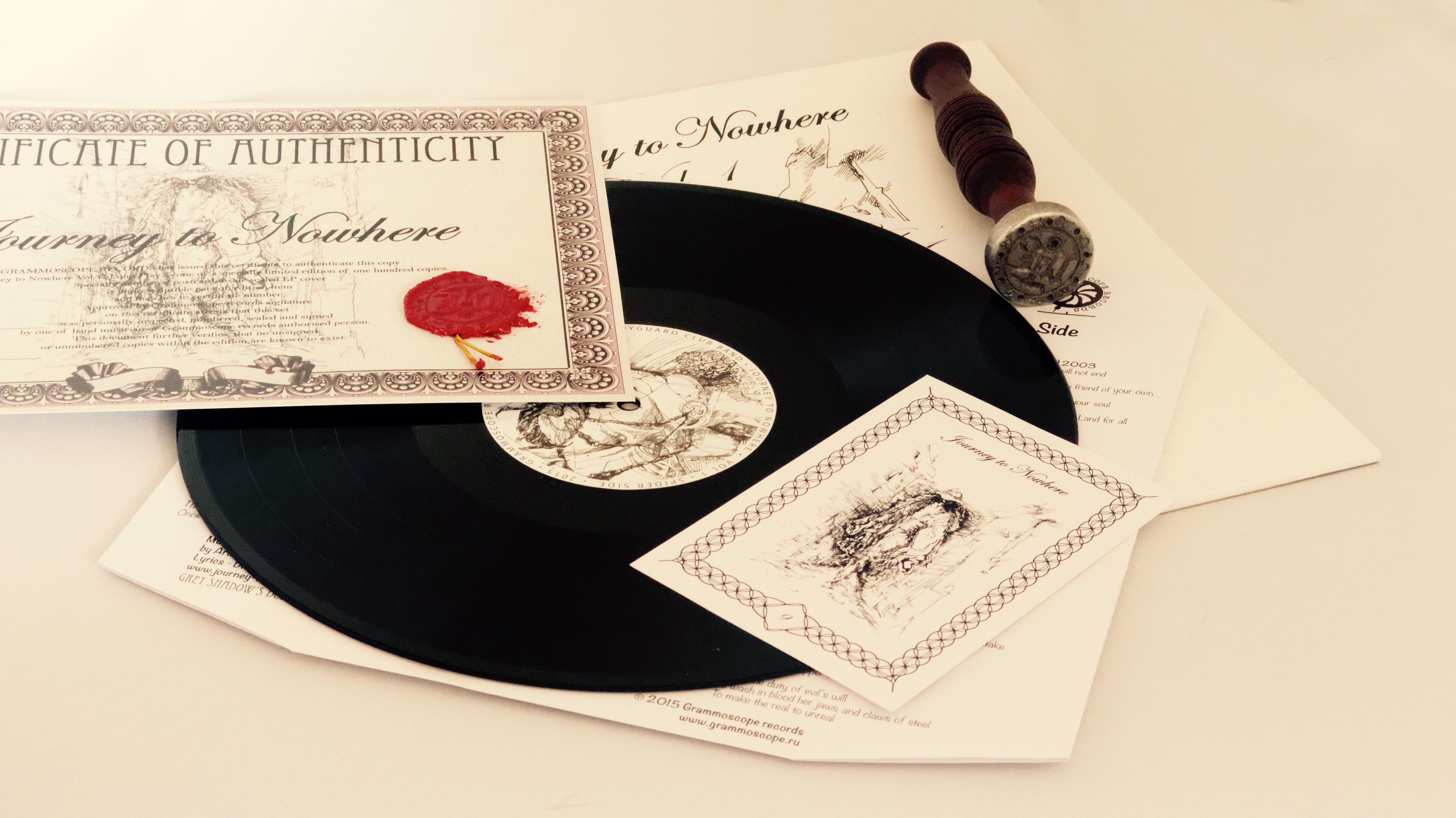 Journey to Nowhere LP set